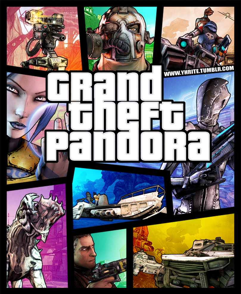 Grand Theft Pandora by Yhrite
