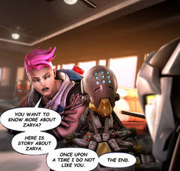You Want to Know More About Zarya? by Yhrite