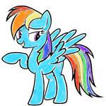 Mlp Rainbow Dash Vector By Goldfisk-d5pgnwc