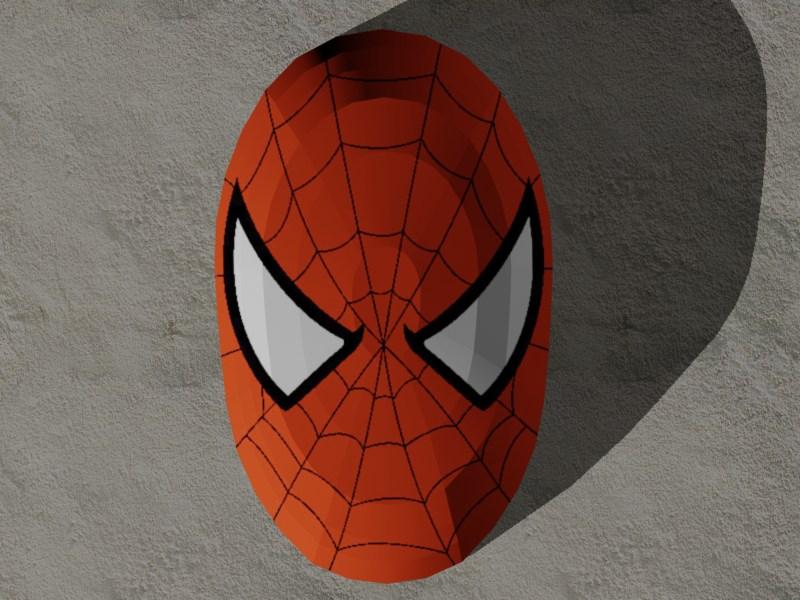 Spider-Man Mask Papercraft by Tektonten