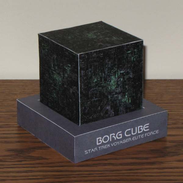 Borg Cube Papercraft by Tektonten