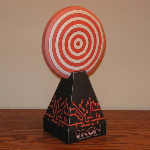Sark Disc Papercraft by Tektonten