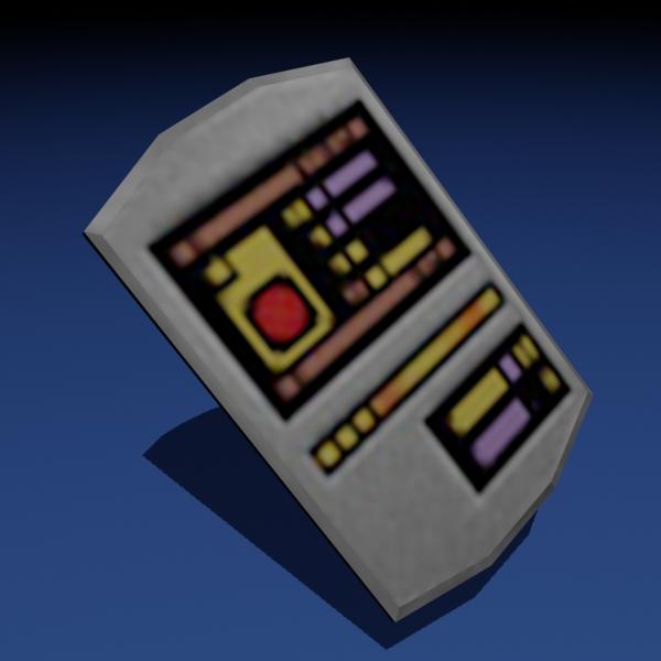 Star Trek PADD Papercraft by Tektonten