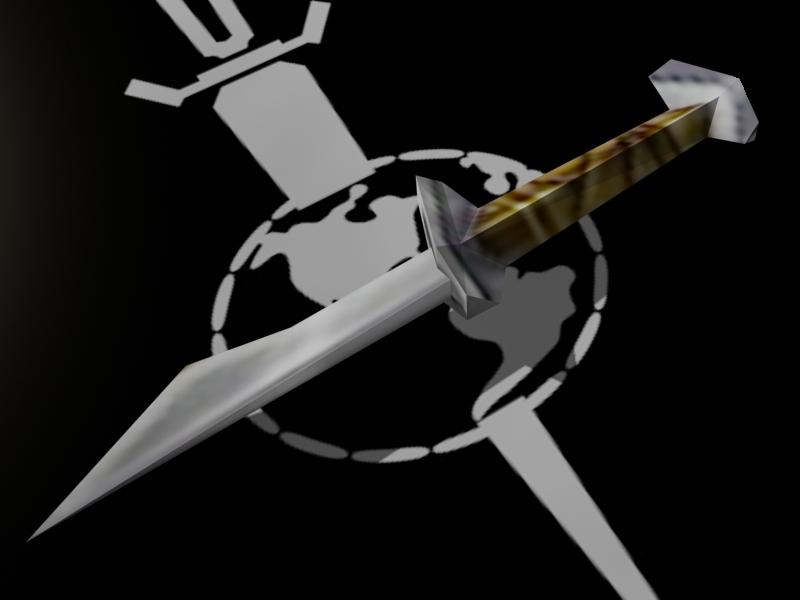 Terran Empire Knife Papercraft by Tektonten