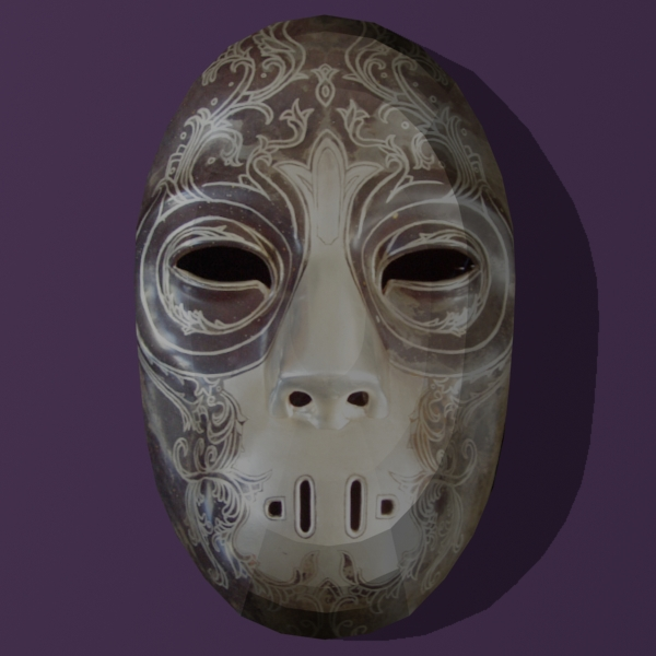 Papercraft Death Eater Mask 4 by Tektonten