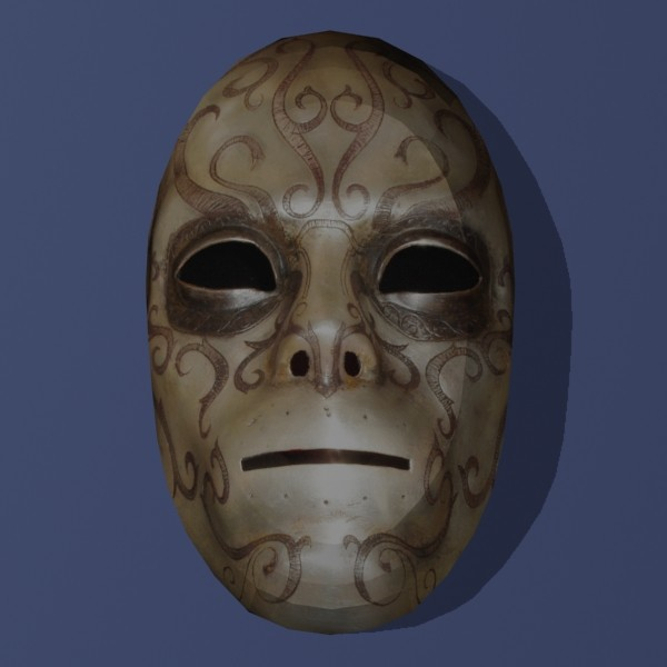 Papercraft Death Eater Mask 6 by Tektonten