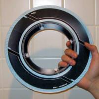 Tron Papercraft: Sam's Disc by Tektonten
