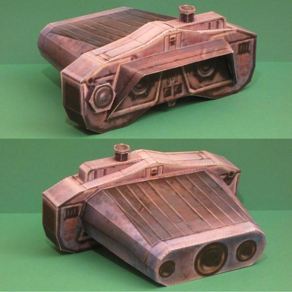 Papercraft Electrobinoculars by Tektonten