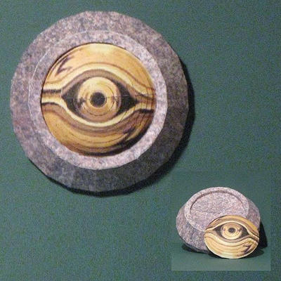 Millennium Eye Papercraft by Tektonten