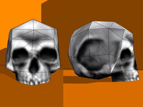 Half-Life Skull Paper Model by Tektonten