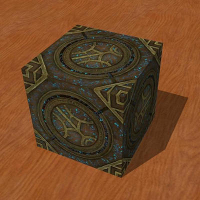 Skyrim Runed Lexicon Cube Papercraft by Tektonten