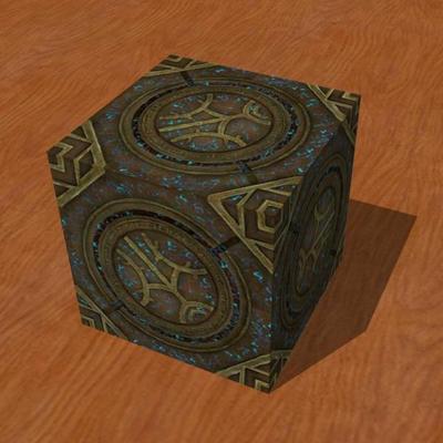 Skyrim Runed Lexicon Cube Papercraft by Tektonten