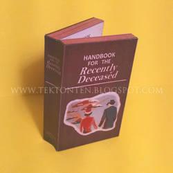 Beetlejuice Handbook Paper Toy by Tektonten