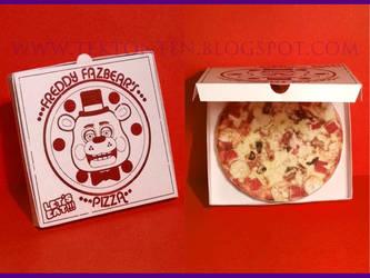 FNAF Pizza Paper Toy