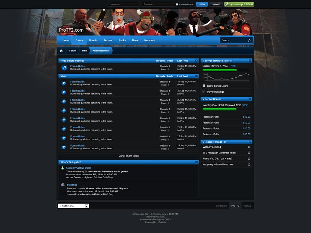 Clean Gaming Forum Design By Michaeltinnin On DeviantArt - Game design forum