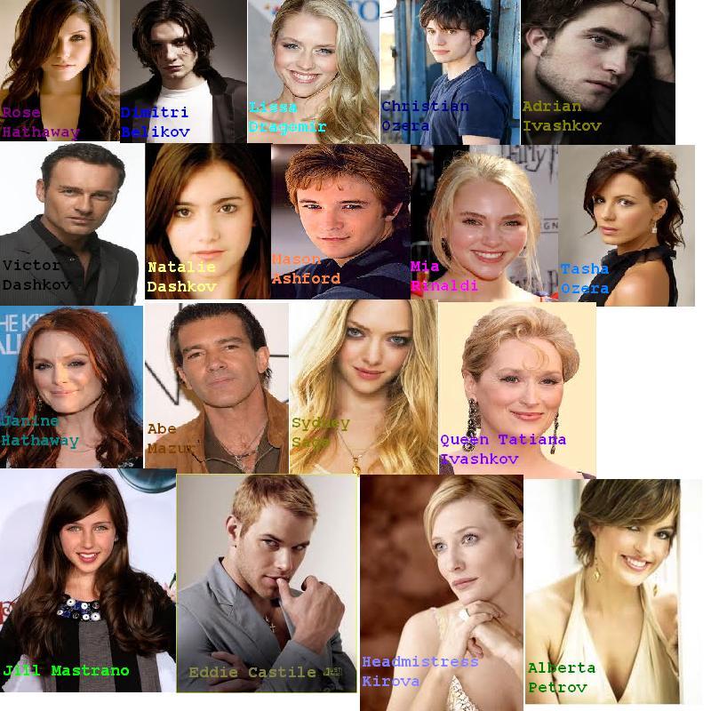 Vampire Academy Cast b...