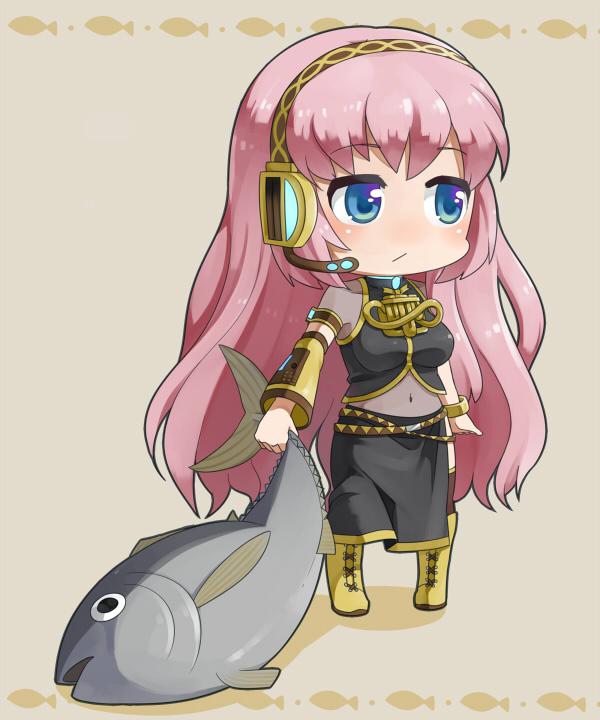 Chibi Luka chan by grimay on DeviantArt
