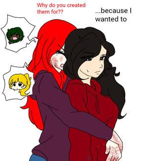 Me and Yasmin (main OC!)
