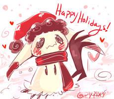 Happy Holidays by Pypixy