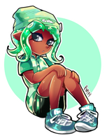 Commission-Octogirl by Pypixy
