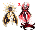 ADOPTABLE AUCTION-  Sun and Moon - Closed 0/2 by Pypixy