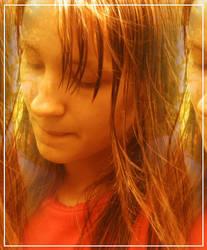Girl in the Sun by kurdt-me
