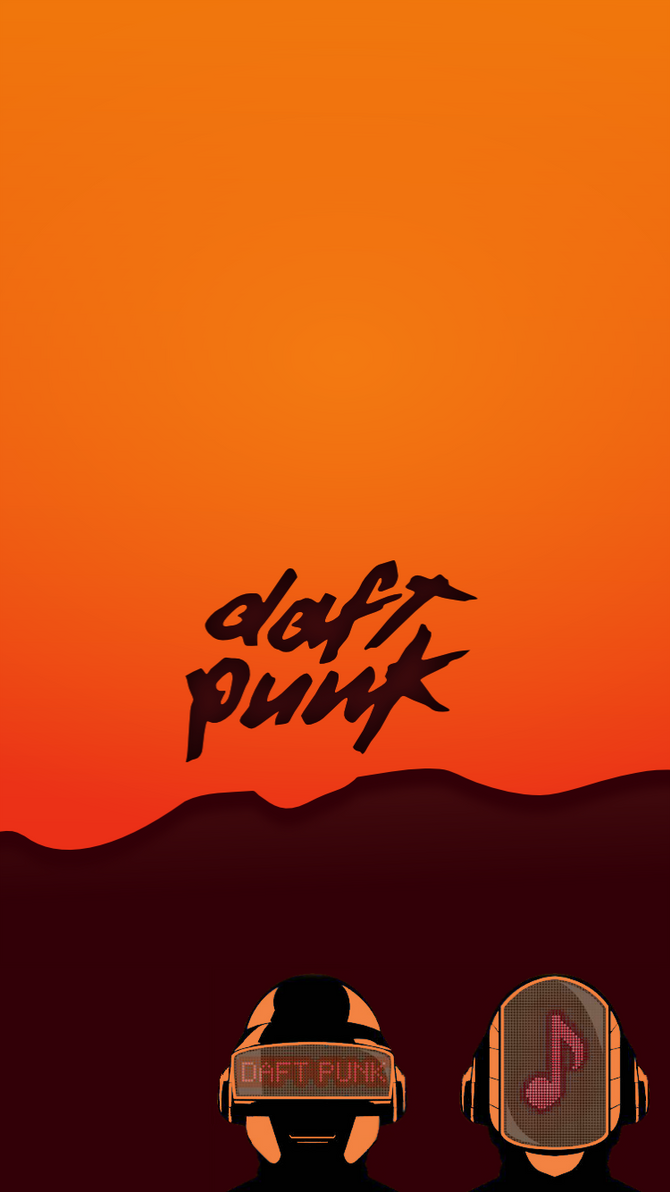 IPhone 6 Wallpaper Set DaftPunk