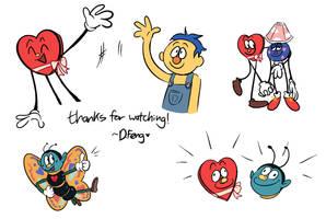 DHMIS 3 animatic ending pics