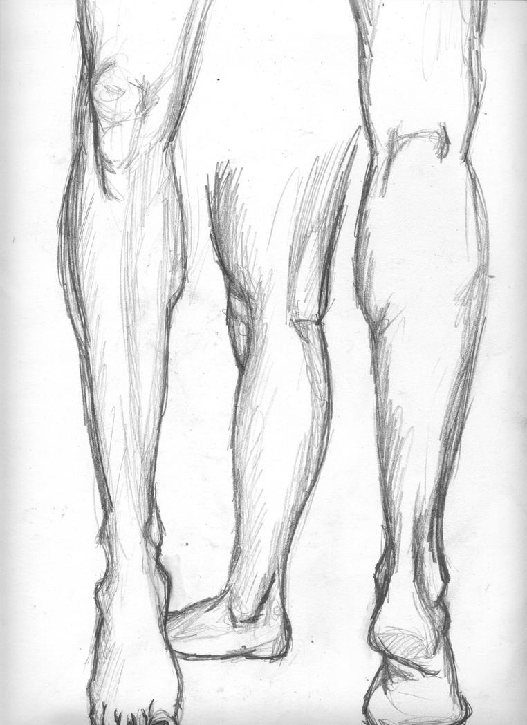 Leg Studies by skeetch11
