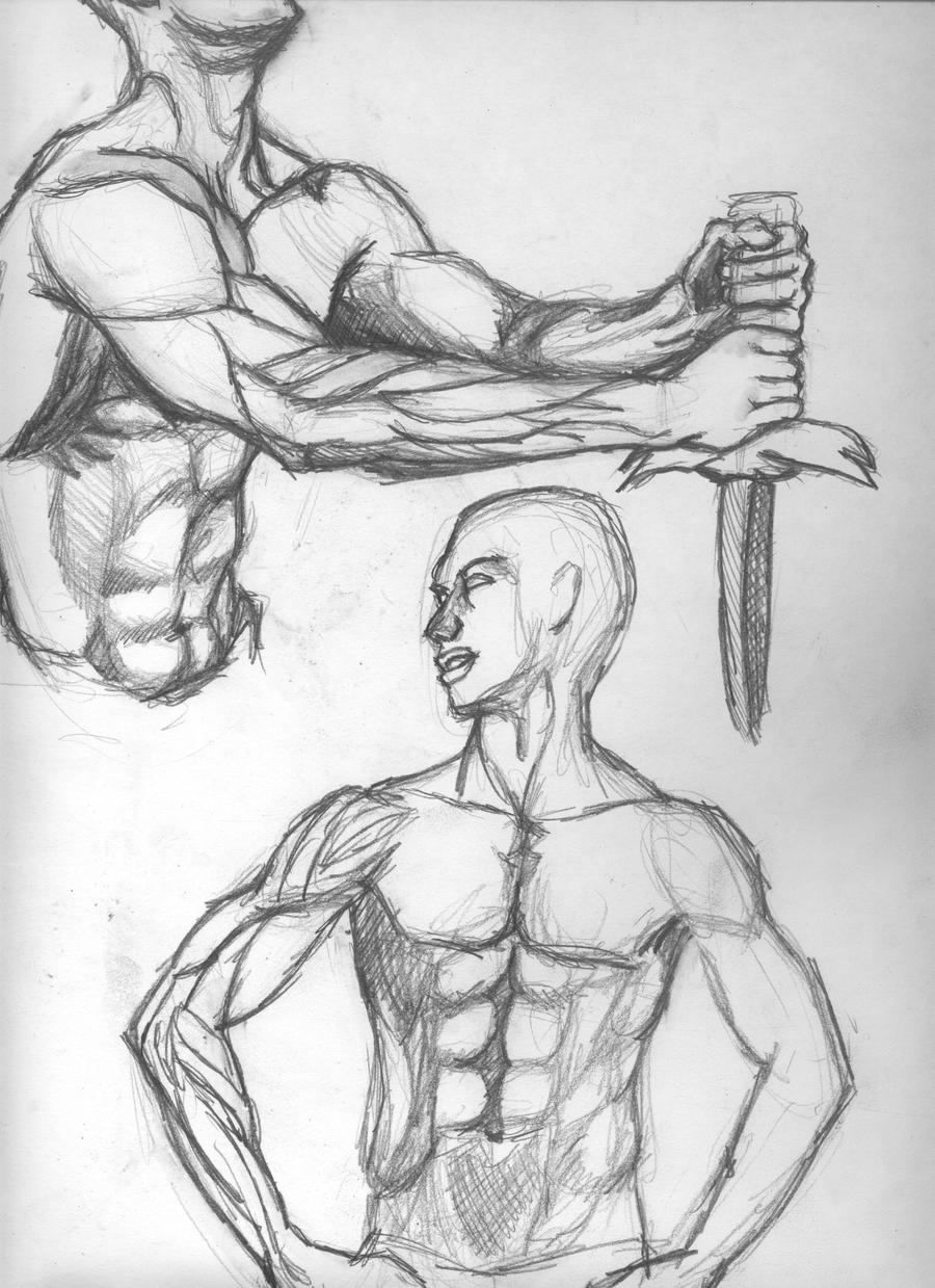 Homme Sketches 7 by skeetch11