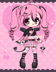 +Punk demon girl adopt [CLOSED]+
