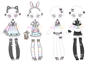 +left over outfit adopt (0/4) [CLOSED]+