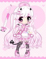 +Pink demon nurse adopt [CLOSED]+