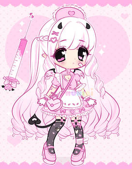 +Pink demon nurse adopt [CLOSED]+