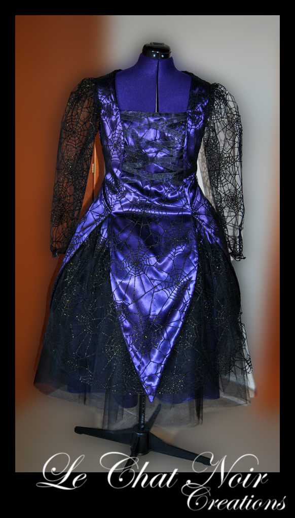Witch Dress For Halloween by LeChatNoirCreations