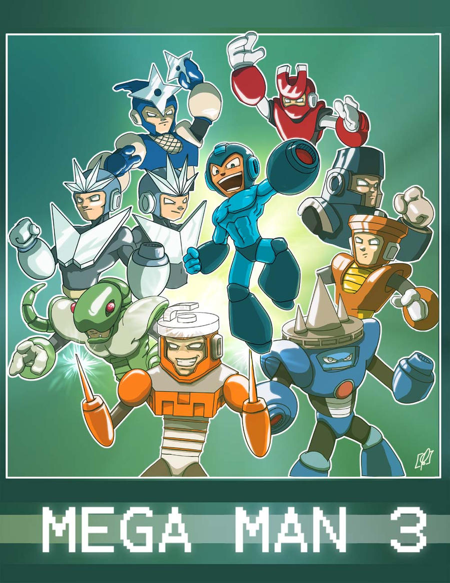 Mega Man tribute by soulrailer