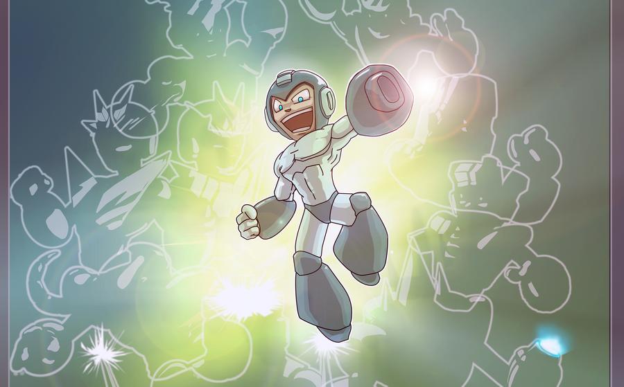 Megaman by soulrailer