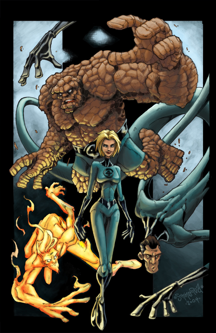 Fantastic Four by soulrailer