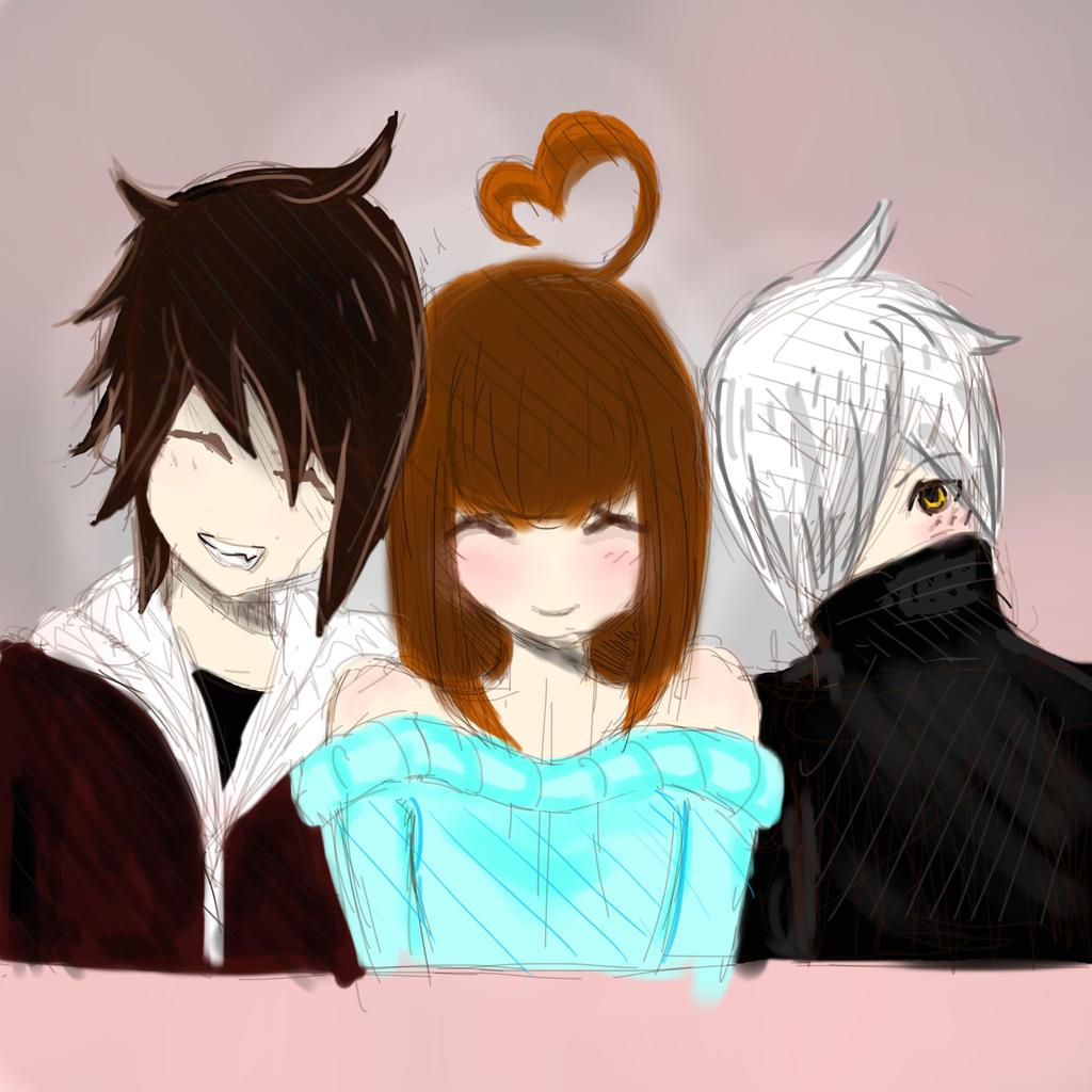 Happy valentines guys by yukilala on deviantart - Happy valentines day anime ...