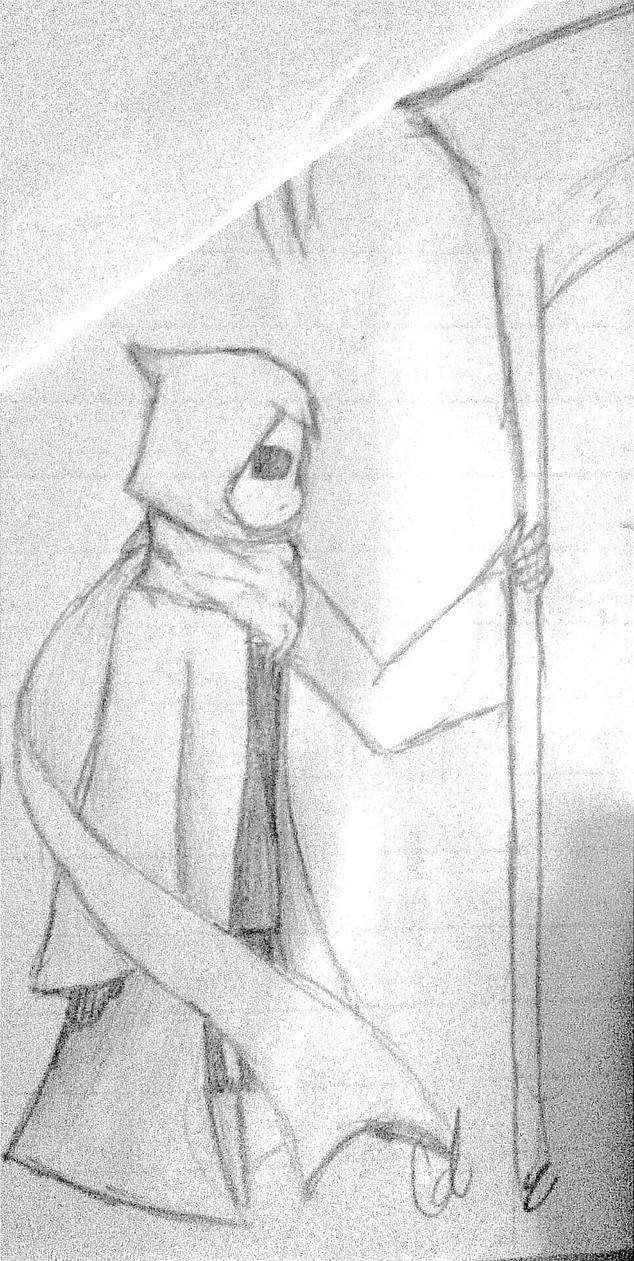 Goth Sketch  by Gleae