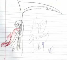 Happy Birthday Goth! by Gleae