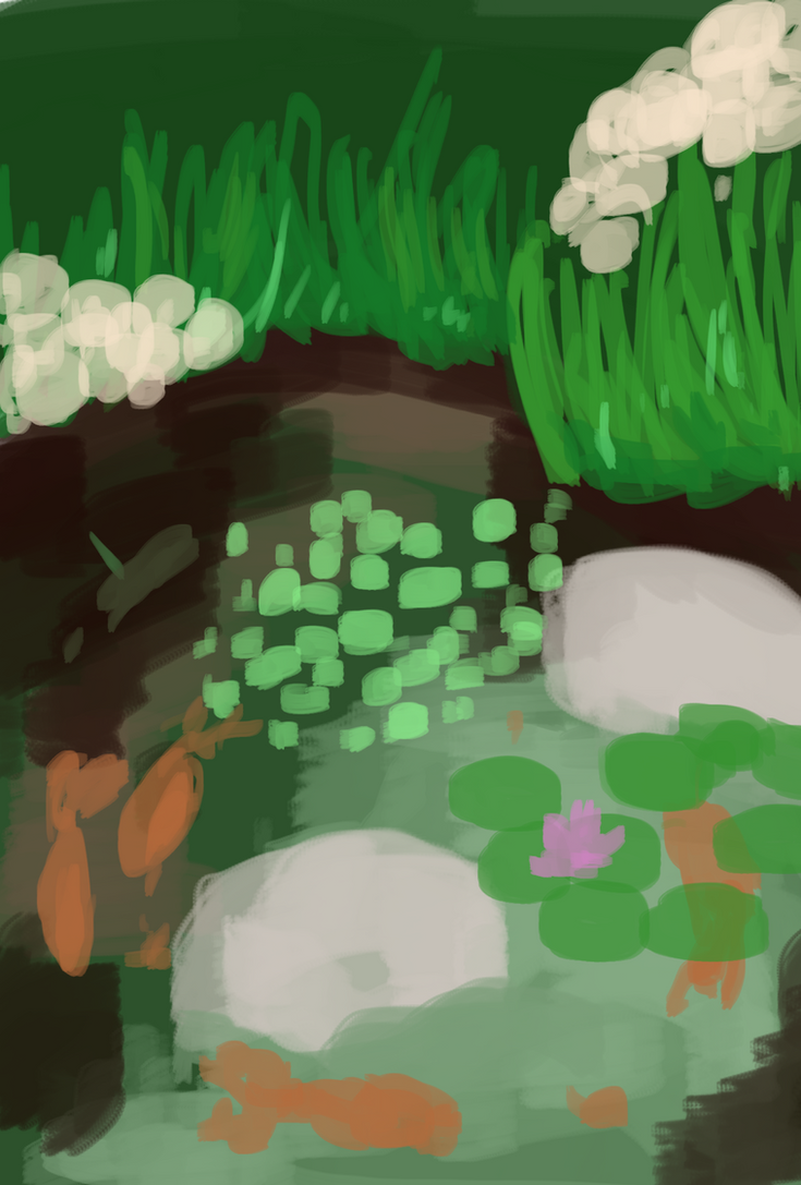 Pond by hadesunderpants