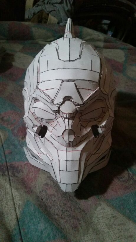 Pepakura Halo 4 Didact Helmet by SeaRCh420 on DeviantArt