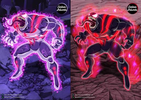 VENOM Symbiote God of Destruction = COMMISSION 25