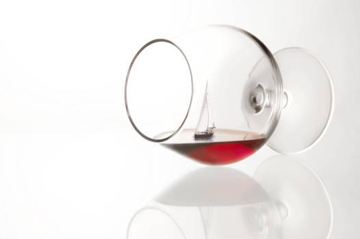 Sailing in wine