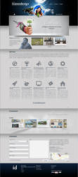 Ivanet Design - 2013 homepage