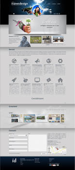Ivanet Design - 2013 homepage by ivanetfiji