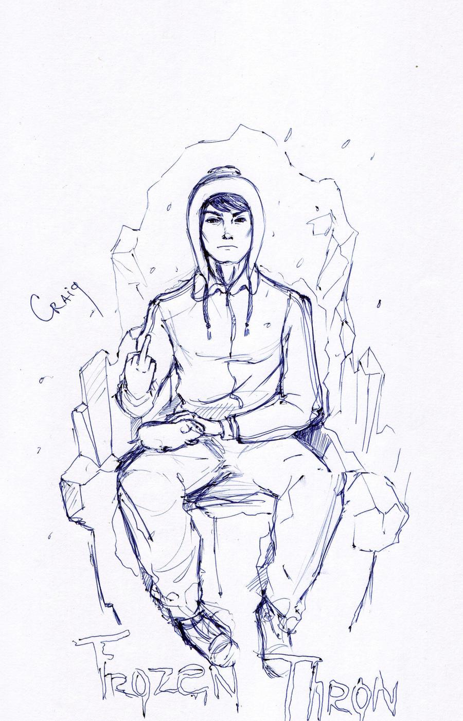 Craig. Frozen Thron by DelijaDodgson