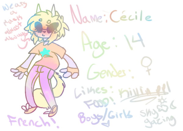 Hi my name is Cecile and I like killing people by o0Donut0o