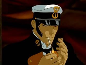 Corto Maltese smoking gif